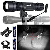 Zoomable Infrared Flashlight 5W IR LED Torch...