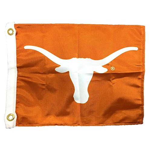 Flagpole To Go NCAA Texas Longhorns Boot-/Golfwagen-Flagge