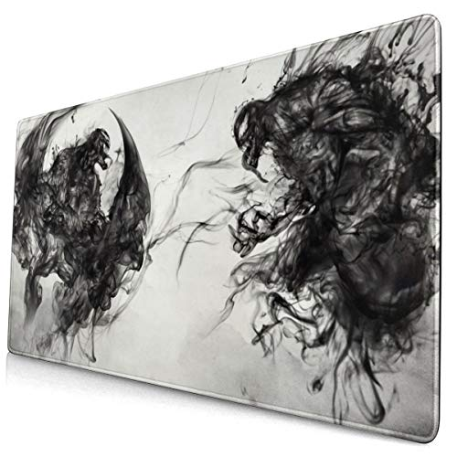 Venom Mouse Pad Rectangle Non-Slip Rubber Electronic Sports Oversized Large Mousepad Gaming Dedicated,for Laptop Computer & PC 15.8X29.5 Inch