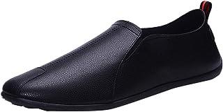 Sneaker Fashion Leather Casual Slip-On Scarpe da