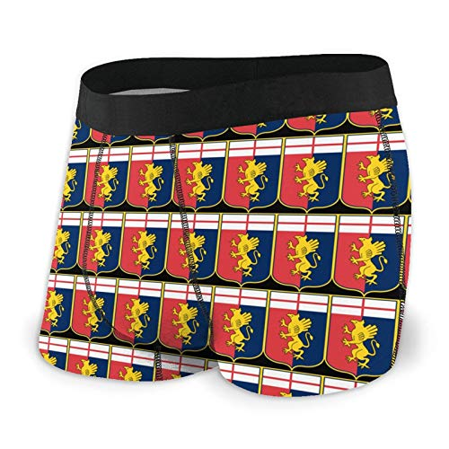 Shanghao Ge-noa Cric-ket Football Club Mens Boxer Shorts Briefs Breathable Shorts Trunks Underwear