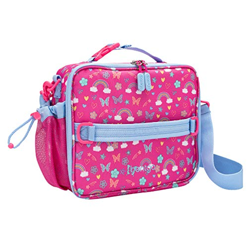 Bentgo Kids Prints Lunch Bag - Double Insulated, Durable, Water-Resistant Fabric with Interior and...
