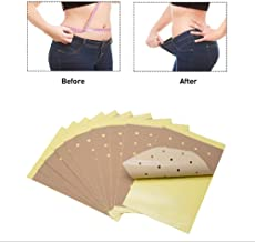 LIQING 100pcs ultra-thin weight loss sticker waist thigh arm body fat burning fat slimming sticker simple and fast weight loss Estimated Price : £ 25,69