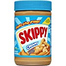 SKIPPY Creamy Peanut Butter, 16.3 Ounce (Pack of 8)