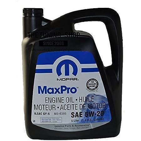 Mopar Maxpro 5w 20 5 L Auto