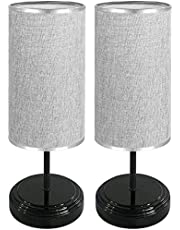 Table Lamp 2 Pack Round & Square