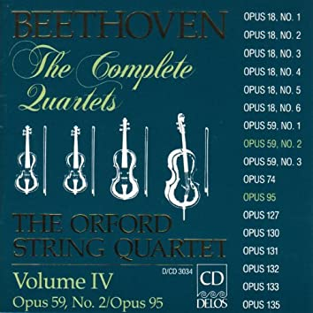 Beethoven, L: String Quartets Nos. 8 and 11