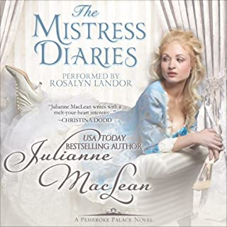 The Mistress Diaries audiobook cover art