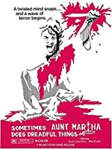 Sometimes Aunt Martha Does Dreadful Things - 1971 - Movie Poster Magnet