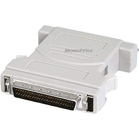 CableWholesale SCSI Computer Slot Adapter Half Pitch DB50 Female Internal IDC 50 Male to External HPDB50
