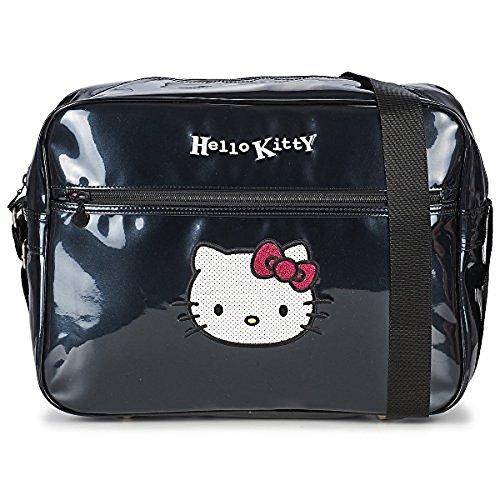 Reporter Hello Kitty noir vernis