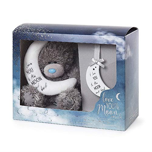 Me to You AGZ01016 Tatty Teddy Love You to The Moon and Back Set de Regalo