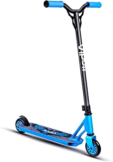 Albott Pro Scooters - Sports Stunt Scooter Freestyle Entry Level Trick Scooters with 6061 Aluminum Deck Trick Scooter for 8 Years and Up,Teens,Adults