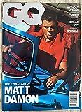 GQ USA Magazine October 2021 The Evolution of Matt Damon
