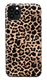 Hapitek iPhone 11 Pro Max Case, Leopard Cheetah Protective iPhone 11 Pro Max Case Slim Cases Soft Flexible TPU Marble Floral Pattern Protective Cover for Apple iPhone 11 Pro Max 6.5' (Leopard)