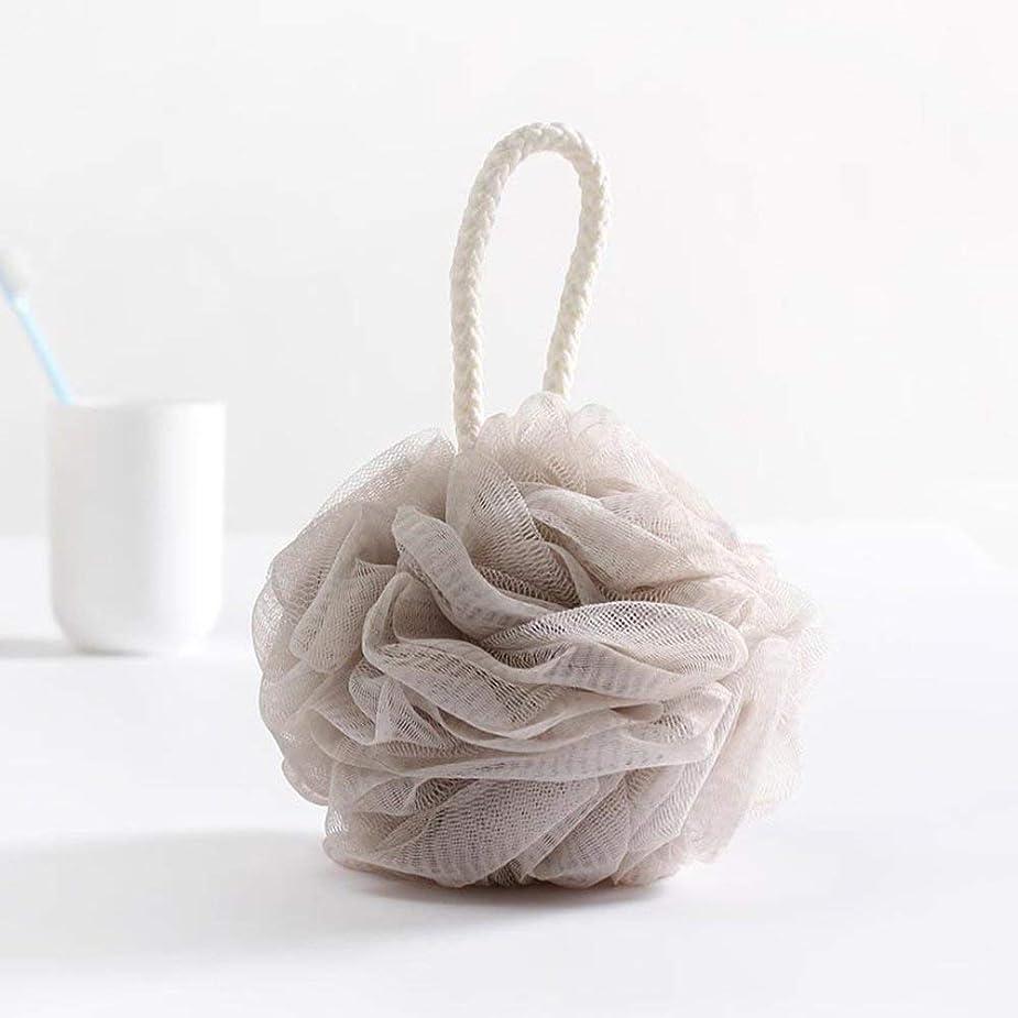 気をつけてアグネスグレイレモン泡立てネット 超柔軟 シャワー用 ボディ用お風呂ボール 花形 タオル 2点セット