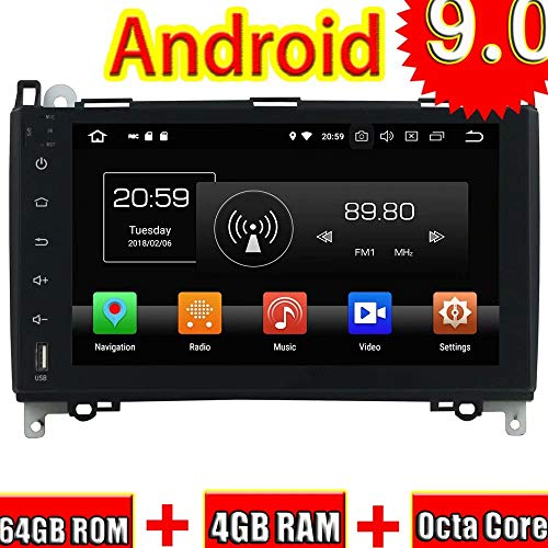ROADYAKO 9Inch Android 8.1 for Benz A-W169/B-W245 2005 2006 2007 2008 2009 2010 2011/Viano/Vito 2009 2010 2011 Car Radio Stereo GPS Navigation 3G WiFi Mirror Link RDS