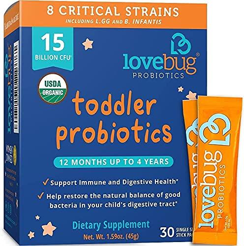 Lovebug Probiotic and Prebiotic for Kids