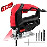 Jigsaw, Avid Power 7.0A 3000 SPM Jig Saw with Laser Guide, Variable Speed, Bevel...