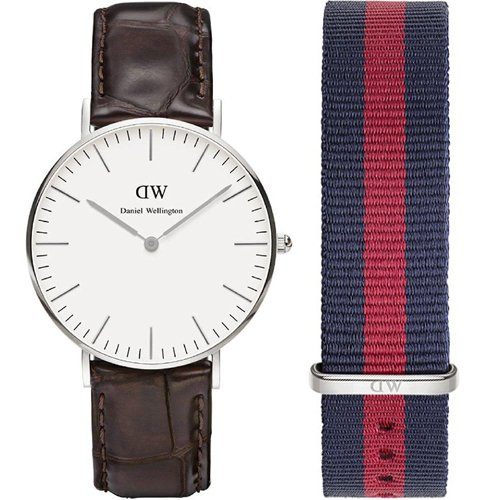 Daniel Wellington York orologio da donna & extra strap 0610dw-0601set