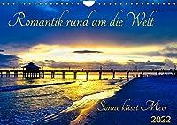 Romantik rund um die Welt - Sonne kuesst Meer (Wandkalender 2022 DIN A4 quer): Sonnenuntergaenge am Meer: Die Natur zeigt was sie kann in all ihrer Farbenpracht! (Monatskalender, 14 Seiten )