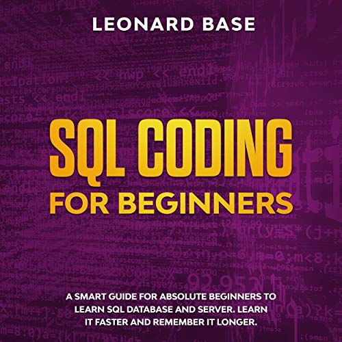 SQL Coding for Beginners Titelbild