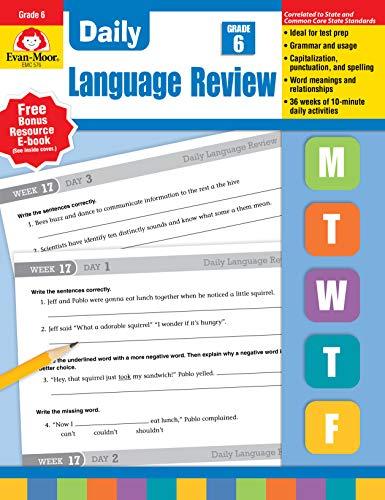 Daily Language Review, Grade 6