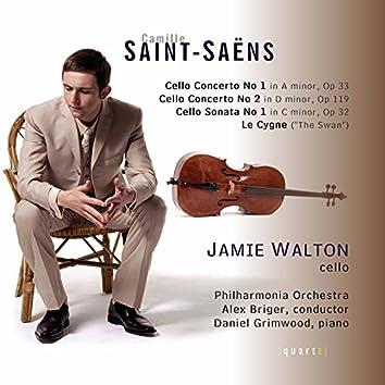 Saint-Saëns: Cello Concertos Nos. 1 and 2, Cello Sonata, Op. 32, & Le Cygne