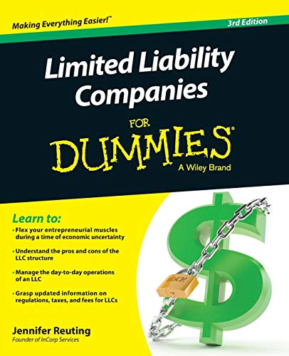Compare Textbook Prices for Limited Liability Companies For Dummies 3 Edition ISBN 8601421975810 by Reuting, Jennifer