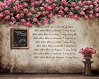 3D 壁画 バラの花のつる ポスター壁紙カスタムメイドデザインの壁画リビングルームホーム壁紙装飾-200X140cm (78X55inch)