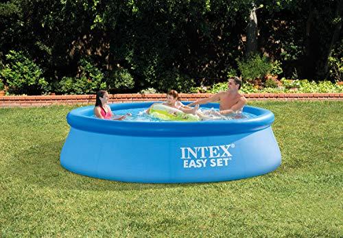 Intex Piscine Easy Set Pools de Support, Bleu
