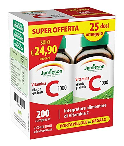 Jamieson Vitamina C 1000 Timed Release Duo Pack
