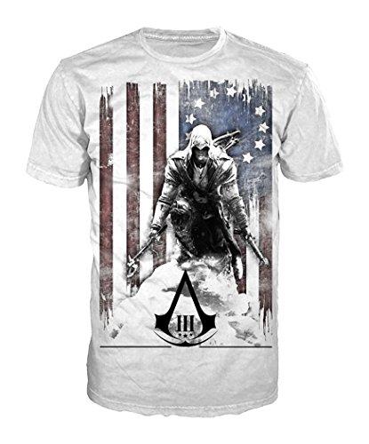 Assassin's Creed III -M- White, Burned Flag