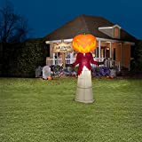 Disney Nightmare Before Christmas Inflatable 5 FT Gemmy Outdoor Decoration (Pumpkin King)