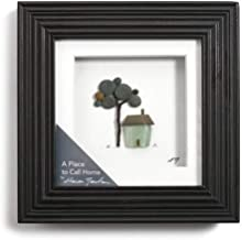 DEMDACO A Place to Call Home Espresso Finish 6 x 6 Dimensional Framed Wall Art Plaque