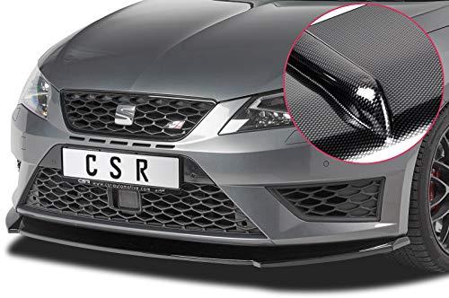 CSR-Automotive Cupspoilerlippe Spoilerschwert im Carbon Look CSL390-C