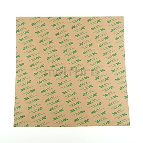 3M 310x310mm doppelseitige Klebefolie, für 3D-Drucker Heizbetten, zB Sidewinder X1 CR-10 (310x310mm)