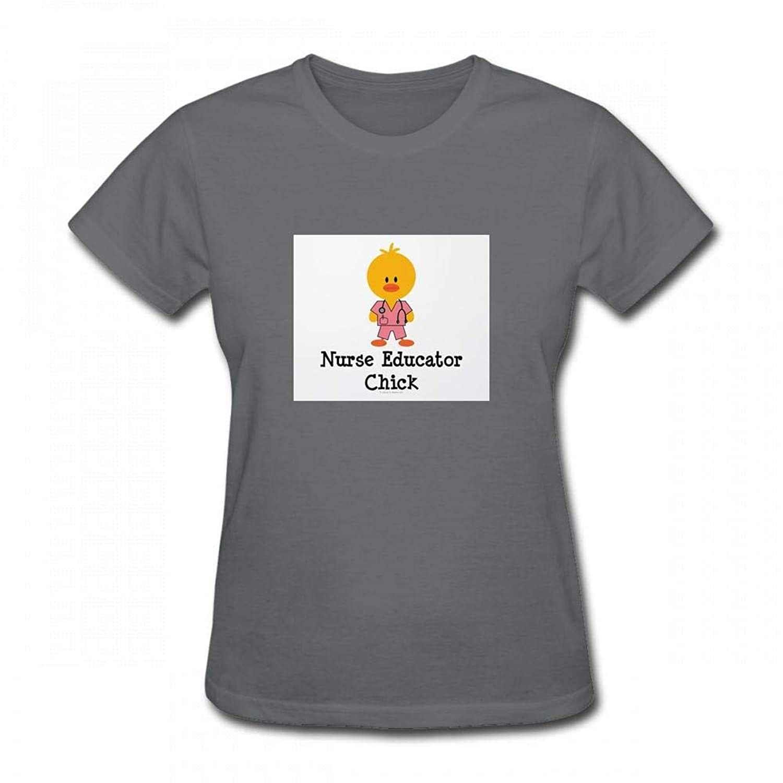 トップス 看護師教育者チック Women T-Shirt レディーズ Tシャツ