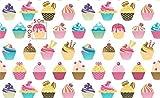 Slantastoffe Baumwollstoff Kinderstoff Dekostoff Cupcake