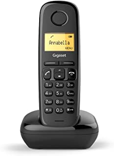 Gigaset A170 Cordless Phone with 18 Hrs Talk Time, 200 Hrs Standby, 50M Indoor & 300M Outdoor Range, Speakerphone, 50 Cont...