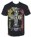 Bravado Guns N' Roses Appetite Bleach Tie Dye T-Shirt Tie Dye Small