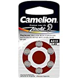 Camelion Zinc Air A312 ZL312 1.4V Button Cell (Pack of 6)