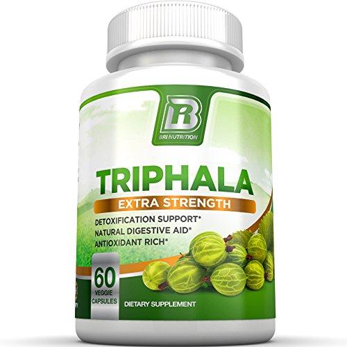 BRI Nutrition Triphala - 1000mg Veg…