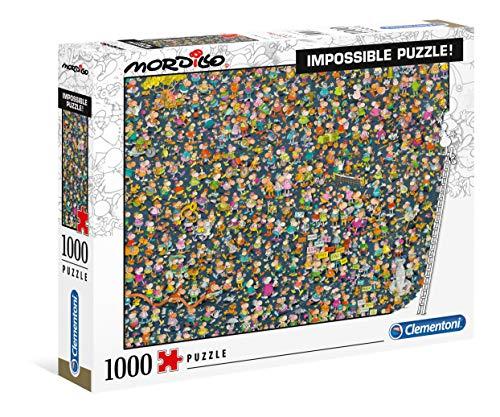 Clementoni 39550 Puzzle 1.000 Teile-Mordillo Impossible