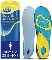 Scholl Plantillas Gel Activ Uso Diario para mujer, para el dia a dia, mayor comodidad y absorción del olor y sudor, talla...