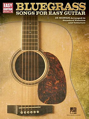Bluegrass Songs For Easy Guitar: Songbook für Gitarre