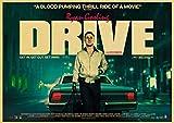 ZRRTTG Leinwand Malerei Bild 60x90cm Drama Movie Drive Ryan