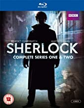 Sherlock: Complete Series One and Series Two (For Region Free Blu-Ray Players only)