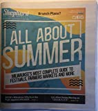 Shepherd Express (Milwaukee newspaper), 23-29 May 2019: 'All about Summer' Guide; Cannabis Connection (CBD in Cedarburg, Vance Global Cannabidiol Cigarettes); Rosy Petri; AIDS Resource Center of Wisc.