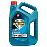 Texaco Havoline Energy 5W-30 Fully Synthetic Engine Oil - 4 Litres